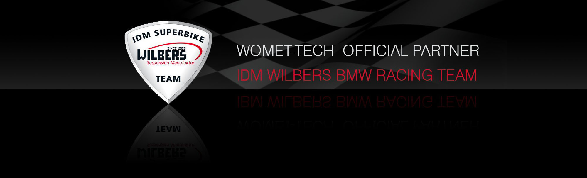 WOMET-TECH OFFICIAL PARTNER WILBERS BMW TEAM