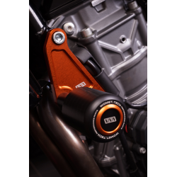 WOMET.TECH KTM DUKE CRASH-PADS/FRAME SLIDERS ENDURANCE Race