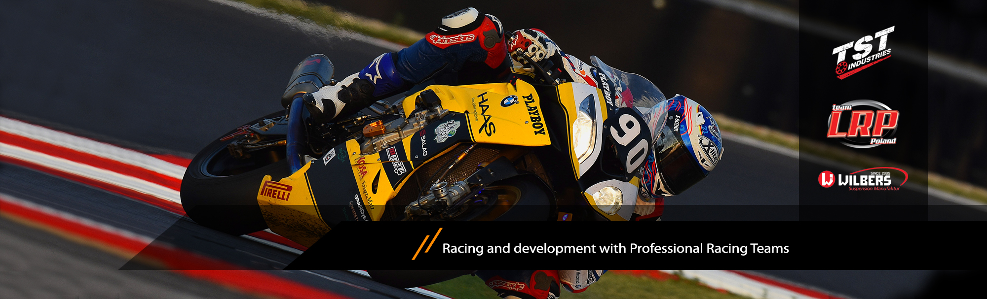 Development with Racing Team